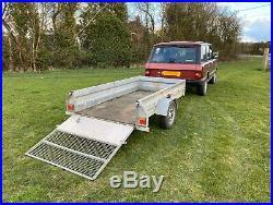 Blueline Trailer 8x4 With Ramp (Mower Trailer Garden Trailer Golf Buggy Trailer)