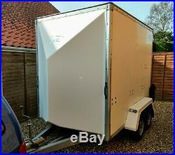 Blueline Twin axle box trailer 8x5x6