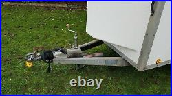 Blv13074 Blueline Single Axle Braked Box Trailer Shutter Door Blue Line