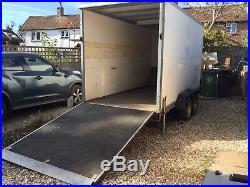 Bockmann Twin Axle Box Trailer