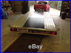Boro Juniper Car Transporter Twin Axle Trailer