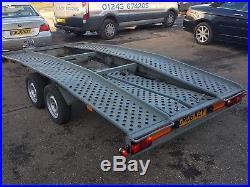 Boro car transporter trailer recovery