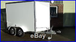 Box Trailer, 10' x 5' x 6', 2000Kg Twin Axle Braked VGC