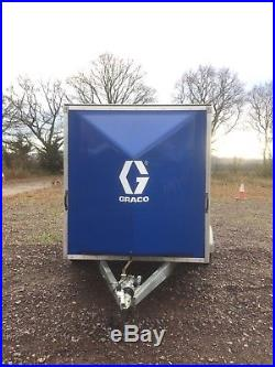 Box Trailer 10x6 Blue Line