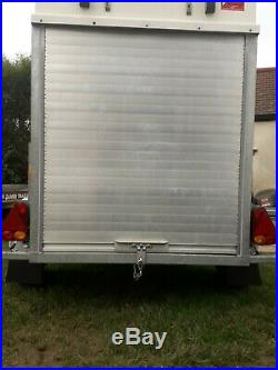 Box Trailer Blue Line 750kg Capacity 6x4x4 Tow Avan Can Deliver