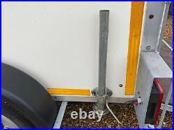 Box Trailer, Hazlewood Manufactured One Owner 8ft Box Full Closer Tailboard Ramp