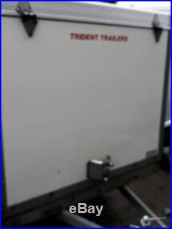 Box Trailer TOW a van 750kg Rare model rear ramp TOW A VAN Motorhome camper