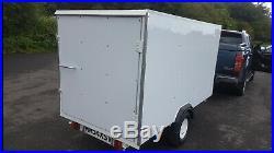 Box trailer 750kg braked no test needed 8x4 rare