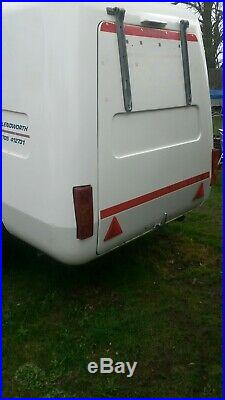 Box trailer MOTORHOME MOTORCYLE CAMPING TEAR DROP LIGHTWEIGHT CAN DELIVER