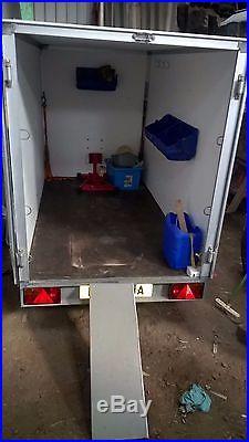 Box trailer ideal for Motocross