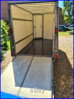 Box trailer ifor williams bv105 g