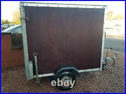 Box trailer motorbike trailer disco camping fishing 750 kg