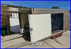Boxed trailer Transporter