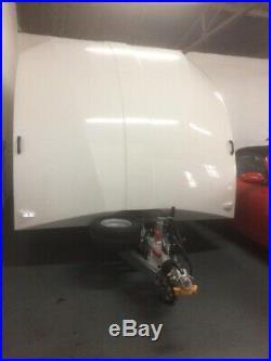 Brain James Car Transporter enclosed covered trailer (+VAT)