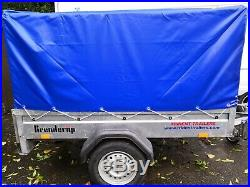 Brenderup 1150s Trailer with soft top 7
