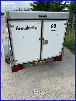 Brenderup 2205s Box Trailer