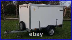 Brenderup Cargo 2260 Ramp Box Trailer 750Kg Gross Motorbike Camping Boot Sale