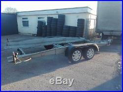 Brenderup Tilt Bed Car Transporter Trailer + Al-Ko Winch