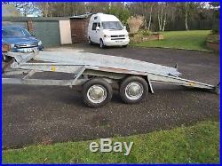 Brenderup Tilt-bed Car Transporter Trailer
