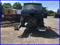 Brenderup Twin Axle Car Transporter Trailer Hydraulic Tilt with Electric Winch