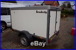 Brenderup box trailer Very good condition. GoKart-motorsport-DJ-Camping-Biking