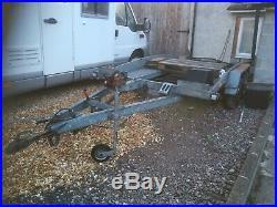 Brenderup tilt car transporter (price reduced)