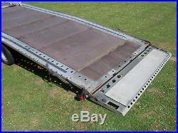 Brian James 16ft X 7ft Tri Axle Tilt Bed Car Transporter Trailer 3500kg