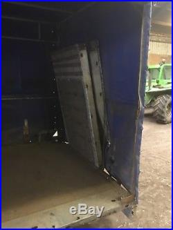 Brian James 16ft flat Tri axle Curtain sided Covered Trailer Car Transporter