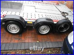 Brian James 2017 C4 Car Trailer Transporter £3300+ 6 Months Old 4.5m Long Bed