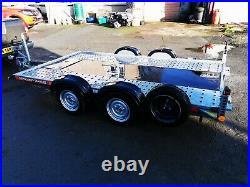 Brian James A4 2 Axle Car Transporter / Trailer