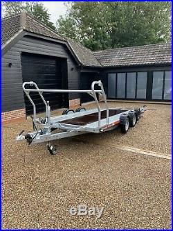 Brian James A4 Transporter Car Trailer 4.5m x 2m 2600kgs