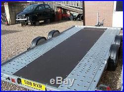 Brian James A4 car trailer 2019.2mtr x 4.5mtr bed Mint very little use. NEW INFO