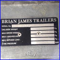 Brian James A series 12 ft Car Trailer