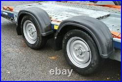 Brian James C4 13ft Car Transporter Trailer (2000kg) Rally Track Recovery CT136