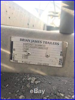 Brian James C4 Blue Transporter Trailer