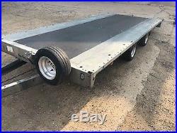Brian James CarGo race track car transporter trailer VGC Ramps Ready to go
