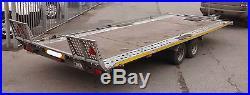Brian James Car Trailer, 2003 16ft Tilt Body, Data Tagged, No Reserve