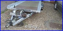 Brian James Car Transporter Recovery Trailer Auto Tilt Remote Husky Superwinch