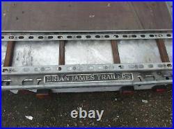 Brian James Car Transporter Trailer 16.5ft X 7ft Used
