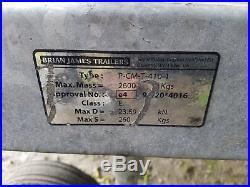 Brian James Car Transporter Trailer Single Axle