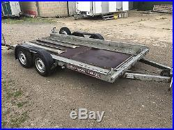 Brian James Clubman Car Transporter Trailer Light Weight 2 Axle, Braked 14 Foot