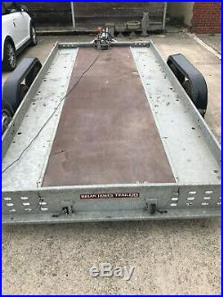 Brian James Clubman tilt-bed trailer with winch recovery collection