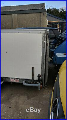 Brian James Enclosed Car Trailer, with manual Winch