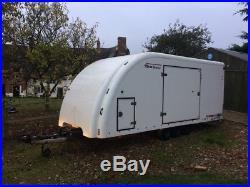 Brian James Enclosed Car Transporter Trailer