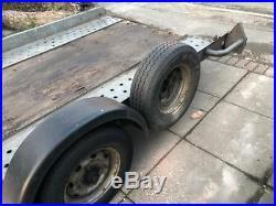 Brian James Flatbed Car Transporter 2500kg Trailer A Series Long 4.5m x 1.85m
