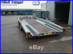 Brian James Hi Max recovery car tilt bed transporter trailer