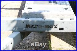 Brian James Micro Max 1500kg Smart Or Small Car Transporter Trailer Vg