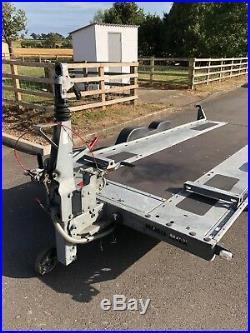 Brian James Minno Max trailer Folding tow pole Fits in single garage