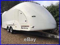 Brian James RS5 Enclosed Car Transporter Trailer