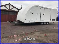 Brian James RT6 enclosed covered car transporter trailer 2015